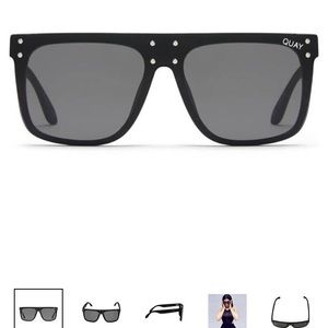 Black hidden hills KylieXquay sunglasses